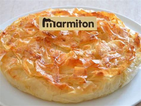 marmiton dessert aux pommes croustade landaise aux pommes et amandes recette filo