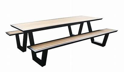 Picnic Table Tables Outdoor Modern Contract Dining