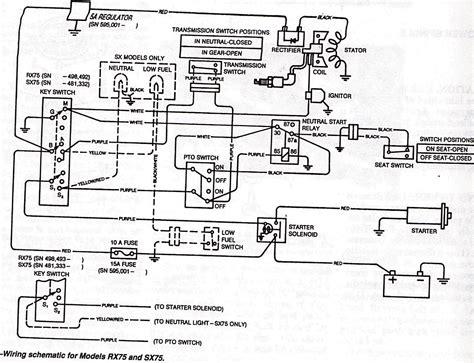 john deere  wiring schematic  wiring diagram