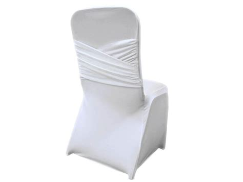 white princess style spandex chair cover special