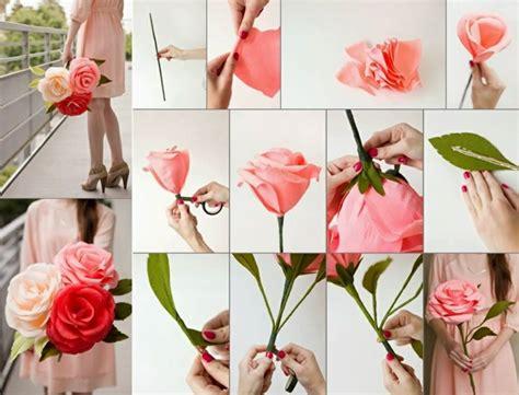 comment faire une fleur en papier comment cr 233 er une fleur en papier cr 233 pon archzine fr