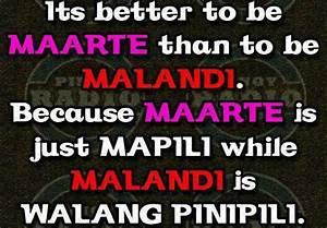 Maarte and Mala... Malanding Bakla Quotes