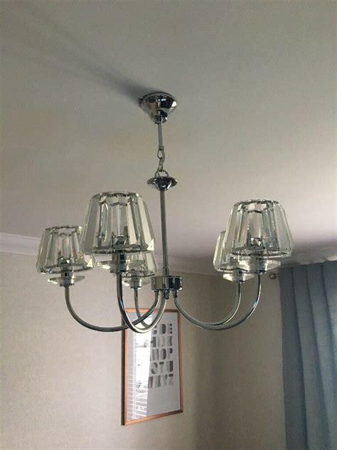 capri chrome wall light laura ashley capri chrome 5 light chandelier with clear