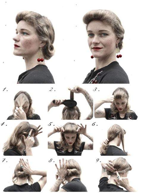 1940s Hairstyle Tutorial by How To Hair Diy Hair Friday 4 Ready 1940 S