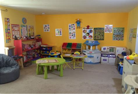 home based preschool home daycare classroom designs for home or center 641