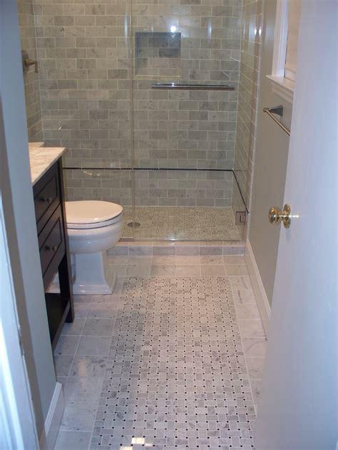 nice pictures  ideas  pebble bath tiles