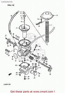 Suzuki Ls650p Savage 1987  H  Usa  E03  Carburetor