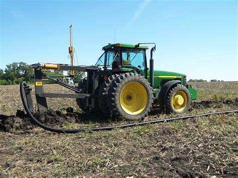 crary agriculture tile plow equipment tile plows