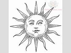 Sun Tattoo Designs Drawing