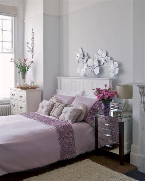 chambre lilas et gris décoration chambre adulte romantique 28 idées inspirantes