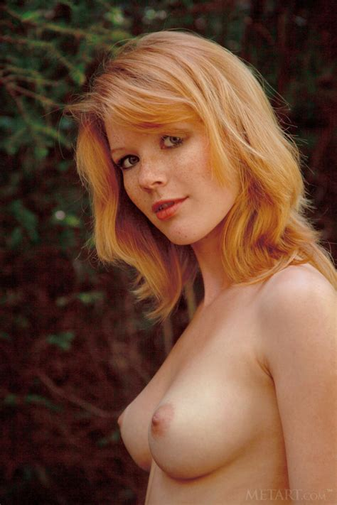 Mia Sollis Naked Ginger In The Woods