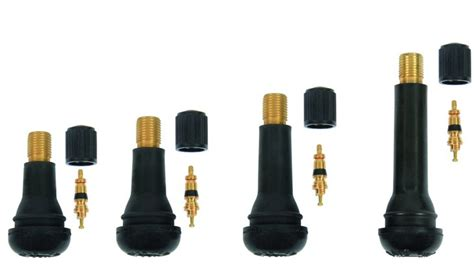 Tr414 Rubber Snap-in Tubeless Tyre Valves