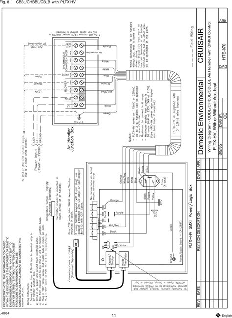 tw air handler wiring diagrams pdf