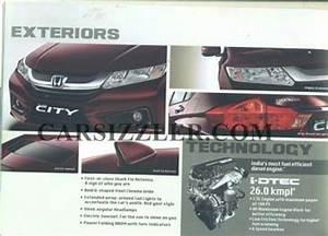 Leaked  2014 Honda City Brochure