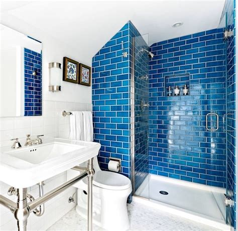 Small Tiles For Bathroom by Blue Tiles For Small Bathroom Remodelingbathroom