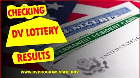 Don't miss out on your chance because of a failed photo. HOW TO CHECK GREEN CARD LOTTERY RESULTS https://dvprogram.state.gov/ - YouTube