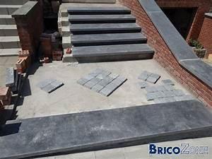 Hauteur Marche Escalier Extérieur : escalier ext rieur en pierre bleue ~ Farleysfitness.com Idées de Décoration