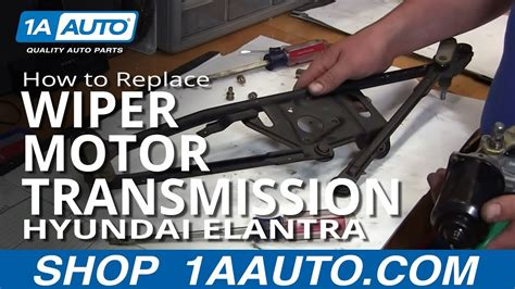 repair windshield wipe control 1995 hyundai elantra spare parts catalogs how to replace wiper motor transmission 01 06 hyundai elantra youtube