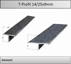 145 cm T-Stahl T-Profil 30x30x4 mm Edelstahl Vollstahl 1,45m 30x30 x 4
