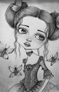 Wonderland by Dottie Gleason Girly Tattoo Artwork Canvas