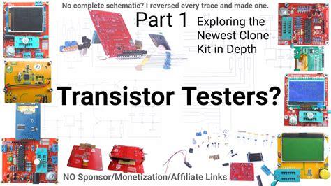 Full Circuit Schematic Draft Avr Transistor Tester