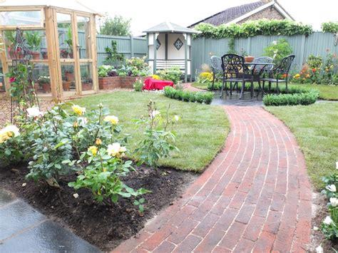 Gardens with Brick Pavers