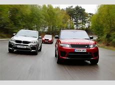 Range Rover Sport SVR vs BMW X5 M and Alpina XD3 Biturbo