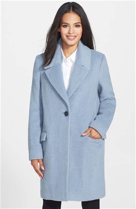 light blue coat womens s light blue wool coat coat