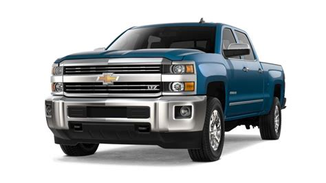 chevy silverado exterior colors gm authority