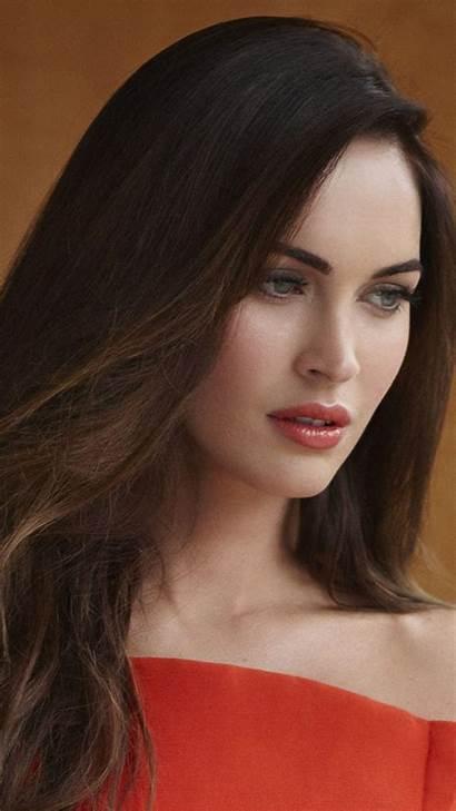 Megan Fox Mobile Face Phone Celebrity Wallpapers