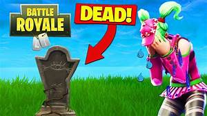 Fortnite Battle Royale Is DYING YouTube