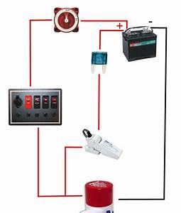 New Wire Marine  Automatic Bilge Pump Switch  Off Or On  Off  Auto