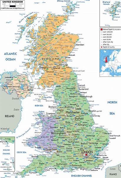 Map Kingdom United Political Maps Europe Zoom