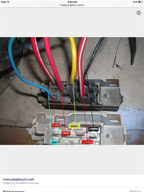 electical wiring mess ignition switch jeep cherokee forum