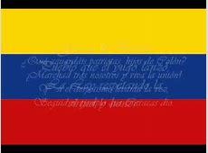Himno Original y Primera Bandera de Venezuela 1810 YouTube