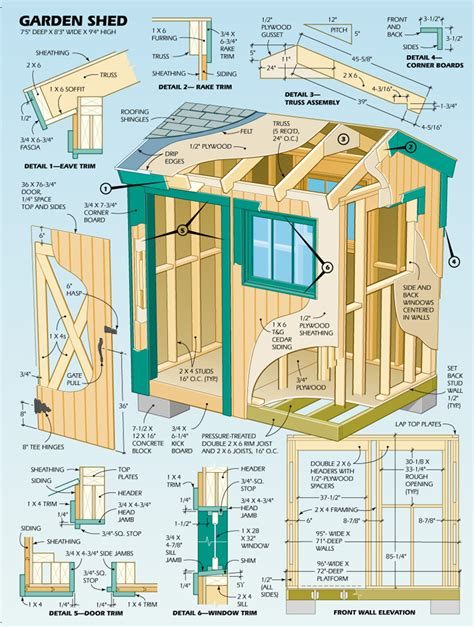 tool shed plans designs    choosing  plan shed blueprints