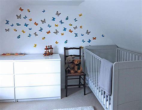 chambre papillon deco papillon chambre fille chambre fille couleur mauve