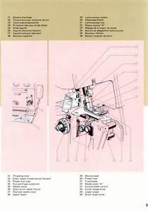 Elna Lock L5 Overlock Sewing Machine Instruction Manual