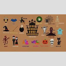 Halloween Words Learn Useful Halloween Vocabulary Words In English With Pictures Youtube