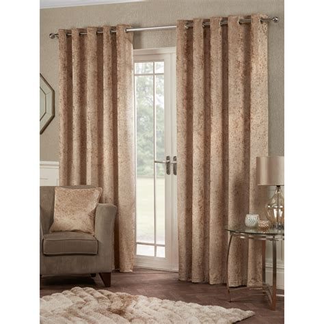 velvet drapes prince crushed velvet eyelet curtains