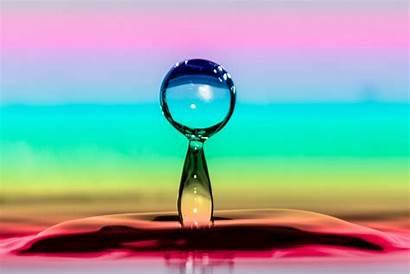 Rainbow Water Reflection Photoshop Splash Gradient Colour