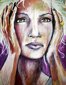Peinture Visage Femme : d 39 art et d 39 esprit quelques essais de peinture page 3 ~ Melissatoandfro.com Idées de Décoration