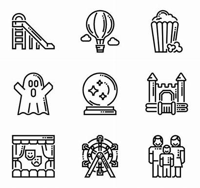 Attractions Icon Vectorified Attraction Icons