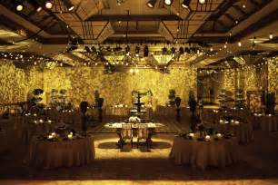 wedding venue indoor garden decor