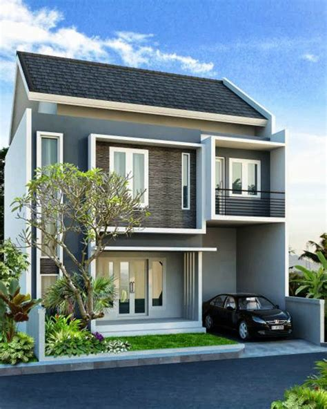 rumah minimalis lantai  google search home