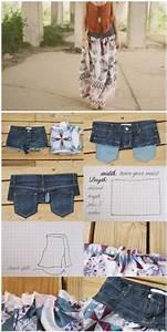 Aus Alten Klamotten Neue Machen Ohne Nähen : die besten 25 alte jeans ideen auf pinterest alte jeans ~ Lizthompson.info Haus und Dekorationen