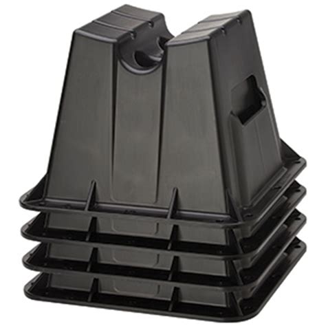 Pontoon Storage Blocks by Attwood Pontoon Storage Blocks 4 Pack West Marine