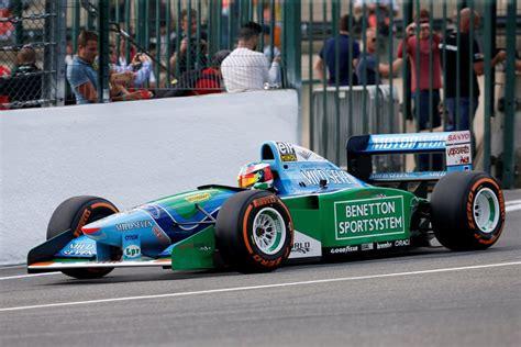 Schumacherjev sin ob očetovem jubileju s častnim krogom v ...