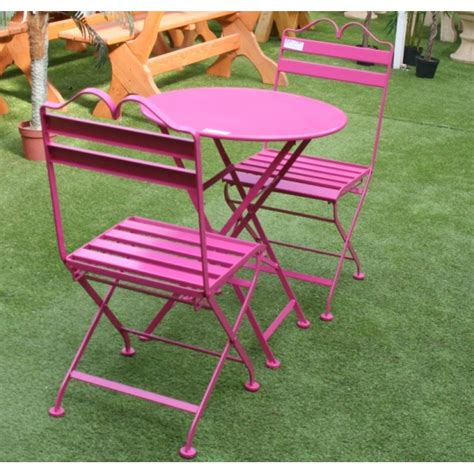 salon de jardin metal colore salon de jardin en m 233 tal promofleur