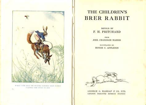 Honor Appleton, The Children's Brer Rabbit 1933